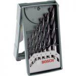 Bosch 2607019580 Wood Twist Drill Set Straight Shank 3 to 10mm 7-pcs