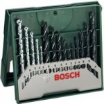 Bosch 2607019675 15 Piece Mixed Mini X-Line Drill Set