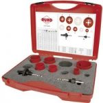 RUKO 106302 EK 2 Electricians HSS Bi-Metal Hole Saw Set 8pc