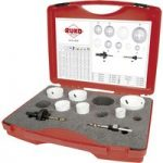 RUKO 126302 HSS CO8 Bi-Metal Hole Saw Set 8pc
