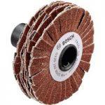 Bosch 1600A00154 Sanding Roller Flexible 15mm 80 Grit for PRR 250