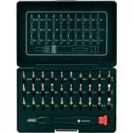 Toolcraft 809204 Micro Bit Set Including Ratchet Handle 31 Piece