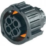 TE 1-968968-1 Socket Housing With Secondary Locking 2.5mm 4P