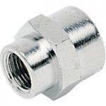 ICH 30107 Sleeve Adaptor G3/8 to G1/2 60 bar Brass NP