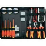 Toolcraft 1177223 Electricians Tool Set 50pc