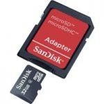 SanDisk SDSDQB-032G-B35 microSDHC™ Memory Card 32GB – Inc Adaptor