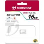 Transcend TS16GJF510S Jetflash 510 16GB USB Flash Drive – Silver