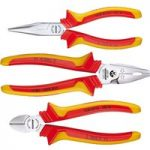 Gedore 1692291 1102-002 VDE Pliers Set 3pc