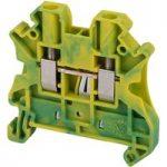 Schneider Electric NSYTRV42PE Screw Terminal Ground 2 Position 4mm