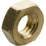 Schneider Electric 3747717 M4 Brass Full Nuts (Pack of 100)