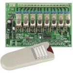 Velleman VM118 8-Channel RF Remote Control Set Electronics Kit