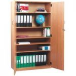 Monarch Stock Cupboard with 1 Fixed & 4 Adjustable Shelves Height …