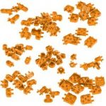 VEX IQ Corner Connector Base Pack (Orange)