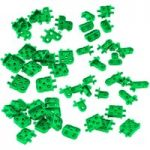 VEX IQ Corner Connector Foundation Add-on Pack (Green)