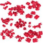 VEX IQ Corner Connector Base Pack (Red)