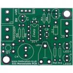 RK Education 555 Monostable Project PCB (70-6012/3/4/5/6)