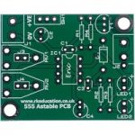 RK Education 555 timer Astable Projects (70-6017/8/9) PCB