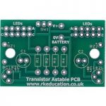 Transistor Astable Project – PCB