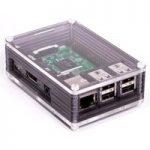 Pimoroni PIM148 Pibow 3 Ninja Case for Raspberry Pi (Pi 3, 2, & B+)