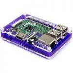 Pimoroni PIM163 Pibow 3 Coupé Royale Case for Raspberry Pi (Pi 3, …