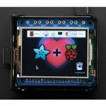 Adafruit 2455 PiTFT 2.4″ 320×240 TFT Touch Display HAT Raspberry P…