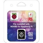 SanDisk 16GB SD Card Preloaded with NOOBS for Raspberry Pi