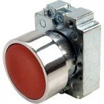Europa Components RCAS-PBF4 Flush Button Switch Red
