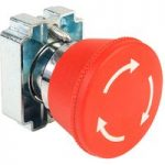 Techna RM2-BS54 Emergency Stop Button (Twist to Release)