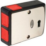 Comus G3PB006 4 Button Microswitch Black SS Panic Button