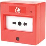 Comus CP51SR Red Fire Alarm Call Point Resettable with Led