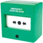 Comus CP54SG Like Glass Green Emergency Door Release Point