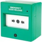 Comus CP56SG Resettable Green Emergency Door Release Point with LED