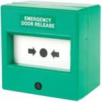 Comus CP74SGS Resettable Green Emergency Door Release Point