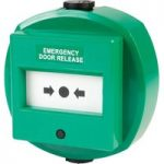 Comus CP77DWG Like Glass Waterproof Green Door Release Point