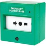 Comus CP85SG Resettable Green Emergency Door Release Point with LED
