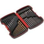 Sealey AK4752 Drill & Bit Accessory Set 52pc