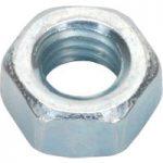 Sealey SN5 Steel Nut M5 Zinc DIN 934 Pack of 100
