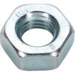 Sealey SN10 Steel Nut M10 Zinc DIN 934 Pack of 100