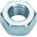 Sealey SN12 Steel Nut M12 Zinc DIN 934 Pack of 25