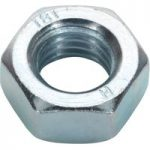 Sealey SN14 Steel Nut M14 Zinc DIN 934 Pack of 25