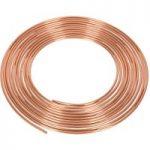 Sealey CBP002 Brake Pipe Copper Tubing 22 Gauge 3/16″ x 25ft BS EN…