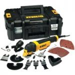 DeWalt DWE315KT Multi-Tool Quick Change Kit & TSTAK 300 Watt 240 Volt