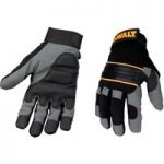 DeWalt DPG33L Power Tool Gel Gloves Black / Grey