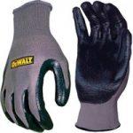 DeWalt DPG66L Nitrile Nylon Gloves