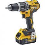 Dewalt DCD796P1 Combi Drill 18V XR Brushless Compact L-Ion 1x 5.0A…