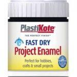 Plastikote 440.0000001.067 Fast Dry Enamel Paint B1 Bottle Black G…