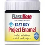 Plastikote 440.0000002.067 Fast Dry Enamel Paint B2 Bottle Black M…