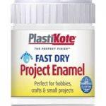 Plastikote 440.0000004.067 Fast Dry Enamel Paint B4 Bottle White G…