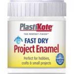 Plastikote 440.0000005.067 Fast Dry Enamel Paint B5 Bottle White M…