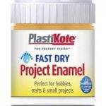 Plastikote 440.0000011.067 Fast Dry Enamel Paint B11 Bottle Sunshi…